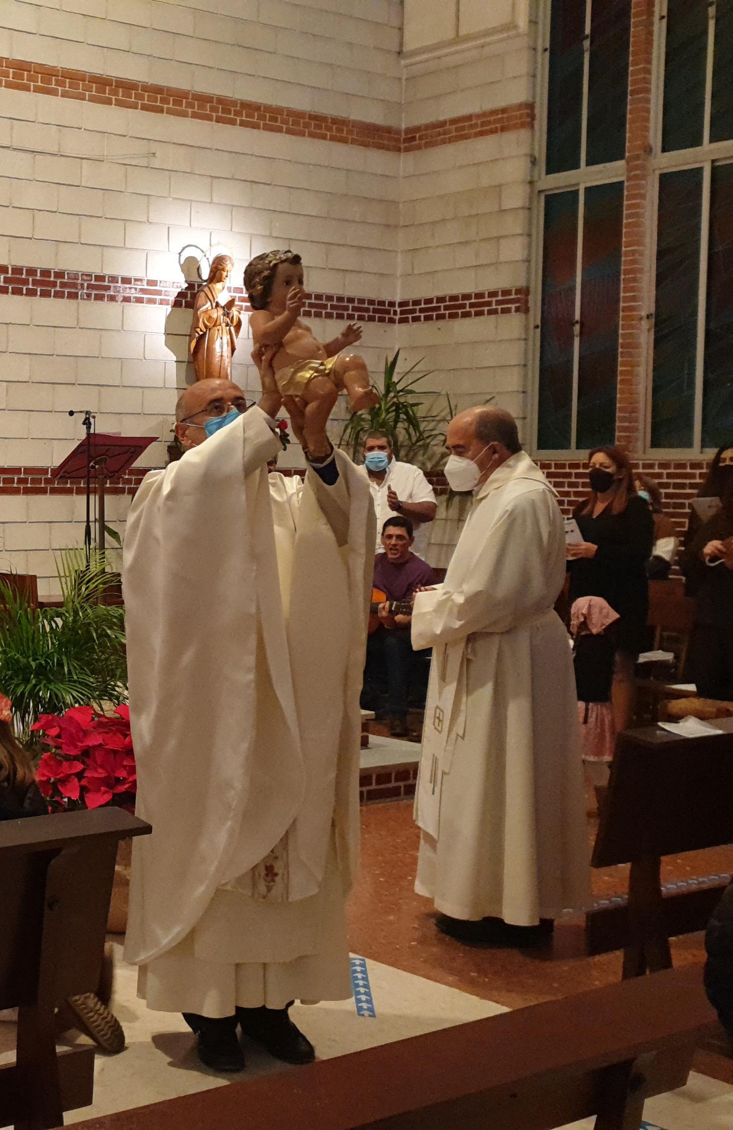 Virgen del Camino SSCC Nochebuena 2020